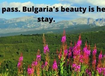 beauty Bulgaria, Bulgarian adventure, tandem travel