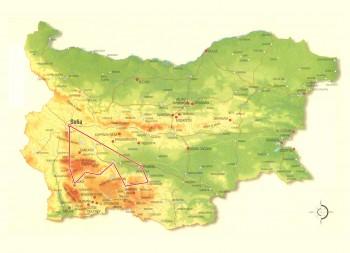 Adventure along the Rhodope Railway-map