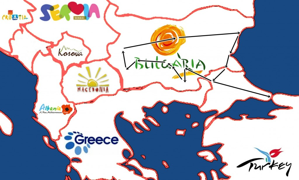 Bulgaria and Turkey