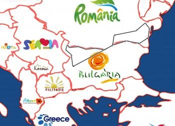The Danube Bike Path-map